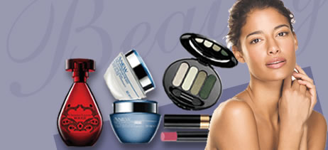 Perfumes, Make-up, Face Creams
